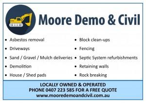 Moore Demo & Civil